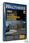 Walthers 933-2901 3-stall Modern Roundhouse Addition Kit Ho Scale Train