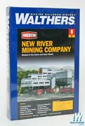 Walthers 933-3221 New River Mining Company Kit Bldg N Scale Train