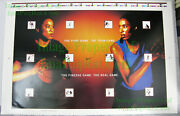 Nitf Untrimmed Nike Women's Basketball Poster Dawn Staley Lisa Leslie Pure Game