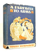 Ernest Hemingway Andndash A Farewell To Arms Andndash First Us Edition 1929 Andndash 1st Issue Book
