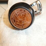 Us Army Insignia .999 Copper Coin Steering Wheel Suicide Knob Spinner Fits Most