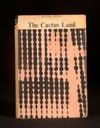 1964 The Cactus Land Rhona Stern Signed With Letter South African Novel First