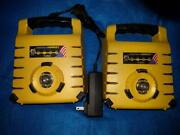 2 Exaktime Hornets W/ 1 Wall Charger And 1 Car Charger Includes Backplates And Locks