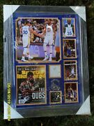 Steph Curry - Kevin Durant Signed Photo Collage - Authentic