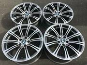 Set Of Genuine Factory Bmw M3 19 Style 220 Forged Rims In Excellent Condition