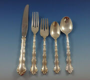 Tara By Reed And Barton Sterling Silver Flatware Set For 8 Service 49 Pieces