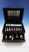 Lady Hilton By Westmorland Sterling Silver Flatware Service For 8 Set 37 Pieces