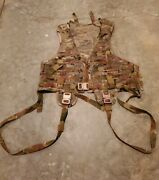 Velocity Systems Soflcs Multicam Mesh Recon Vest Harness Chest Rig 330d Cag