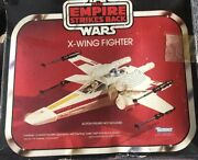 Vintage 1980 Kenner Star Wars Esb Empire Strikes Back X-wing With Box And Instruct