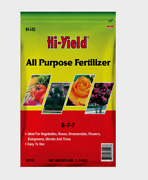 Hi-yield All-purpose Fertilizer 4 Lb. Granules 6-7-7 Analysis Easy To Use 32116