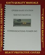 Cpi Cp2000 Cb Base Service Manual On 32lb Paper 😊😊c-my Other Manuals😊😊