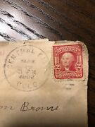 Rare And The Real Deal 1908 George Washington 2 Cent Red Us Postage Stamp