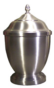 Large/adult 123 Cubic Inch Pewter Pegasus Funeral Cremation Urn For Ashes