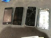 Lot Of 4 Iphone 5s And 5 Mixed Carrier As Is Broken Parts Only