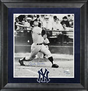 Yankees Mickey Mantle Signed Framed 19.5x20.5 Photo Le 41/100 Jsa And Fanatics