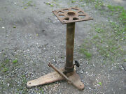 W M Cissell - Spotting Board Stand - Vintage - Cast Iron
