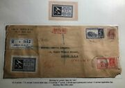 1941 Bombay India Commercial Cover To London England Buy This And Help Raf