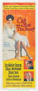 Cat On A Hot Tin Roof Movie Poster Linenbacked Vf 14x36 Insert Elizabeth Taylor