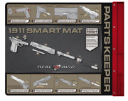 Real Avid Smart Gun Cleaning Mat 43andrdquox16andrdquo With Parts Tray For 1911 Msr Graphics