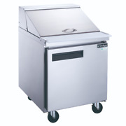 New 1 Door 29 Refrigerated Mega Top Sandwich Prep Table Dukers Dsp2912ms1 2201