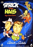 Abbott And Costello In The Noose Hangs High Rare 1sh From 1952