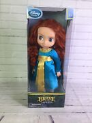 Disney Store Animators Collection Merida From Brave 16 Doll Toy 1st Edition New