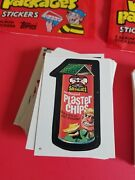 1986 Topps Wacky Packages Album Stickers Sets 1-77 Complete Mini
