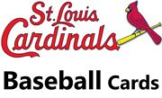 You Pick Your Cards - St. Louis Cardinals Team- Baseball Card Selection