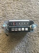Car Radio 1960s Ford Mustang Original Factory W/o Case Works Vintage
