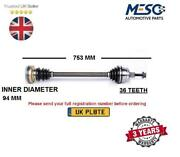 Drive Shaft Axle Fits For Skoda Fabia Roomster 1.4 Tdi 2006-2010 Right Hand