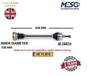 Drive Shaft Axle Fits For Skoda Octavia 1.8 T 1997-2010 Left Hand Side