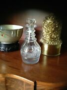 Pittsburg Glass Co Midwestern Early Cut Flint Glass Decanter C1820-35
