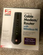 Zoom Docsis 3.0 Cable Modem/router Wireless-n Model 5350