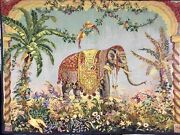 Sale 43andrdquo X 57andrdquo Elephant Tapestry Wall Hanging Art From Belgium