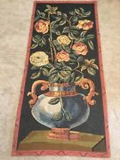 Sale 67andrdquo X 30andrdquo Roses Vertical Tapestry Wall Hanging From Belgium