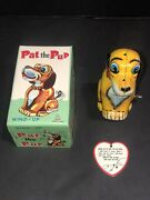 Tps Pat The Pup Barking Dog Wagging Tail T.p.s. Japan Box In Excellent Condition