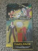 Two-face W/ Turbo-carge Cannon And Coin- Batman Forever- Kenner 1995- New Moc