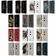 Assassinand039s Creed Odyssey Artwork Leather Book Wallet Case For Sony Phones 1