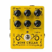 New Caline Wine Cellar Cp-60 Driver And Di Bass Pedal Us Seller