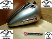 Gas And Oil Tanks Harley 45 Solo Servi-car '47-'50 With Emblems