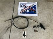 1996 Honda Atc 350x Front Brake Cable Holder Cable Dust Cover And Guide