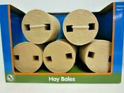 Big Country 1/20 Scale Hay Bales - Set Of 5 Toy Bales