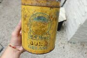 Vintage Antique Mcw Brand Gun Grease Coop Oil Tin Can Coop Manitoba Co-operative