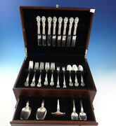 George And Martha By Westmorland Sterling Silver Flatware Set Service 51 Pieces
