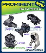 Engine Motor And Automatic Mount Kit 5 Replacement For 99-04 Honda Odyssey