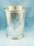 Vintage Solid Sterling Derby Mint Julep Cup By Trees, Monogramed Free Shipping