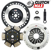 Cm Stage 4 Performance Clutch And 10 Lb Flywheel Kit For 90-91 Integra Cable S1 Y1