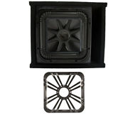 Kicker L7s12 Solo-baric Subwoofer Ported Box With Charcoal Led Grill