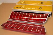 Nos 1967 Outer Stop Tail Lamp Lens Set - Oldsmobile Delta Custom 88 Delco Gm