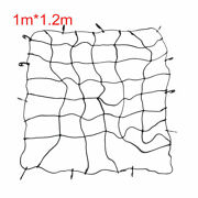 12 Hooks Elastic Black Bed Cargo Carrier For Car Roof Luggage Net